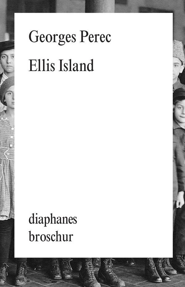 Ellis Island Georges Perec Pdf
